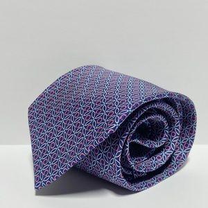 Ferragamo • Pattern Mini Gancini Pure Silk Tie